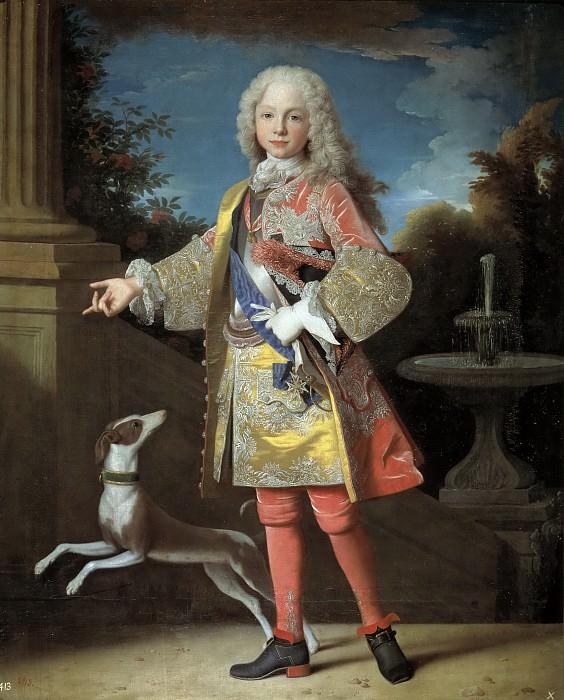 Ранк, Жан -- Фердинанд VI в детстве. часть 5 Музей Прадо