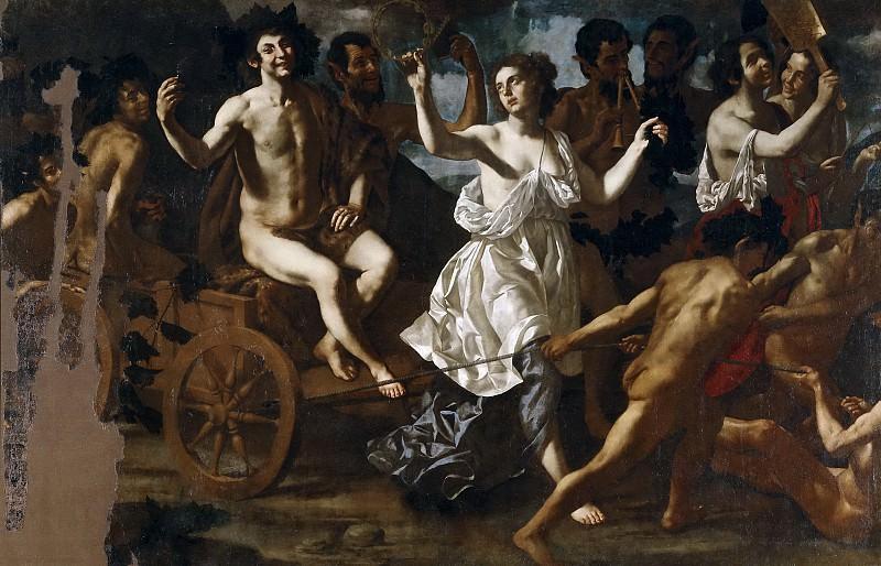 Finoglia, Paolo-Domenico -- El triunfo de Baco. Part 5 Prado Museum