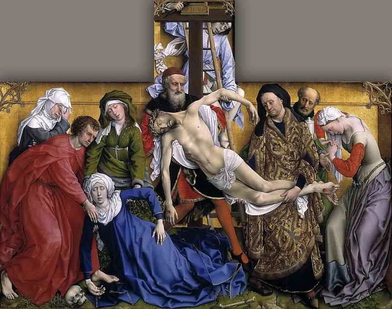 Weyden, Roger van der -- El Descendimiento. Part 5 Prado Museum
