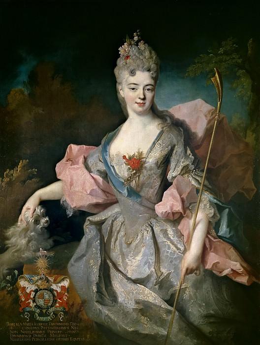 Oudry, Jean Baptiste -- Lady Mary Josephine Drummond, condesa de Castelblanco. Part 5 Prado Museum