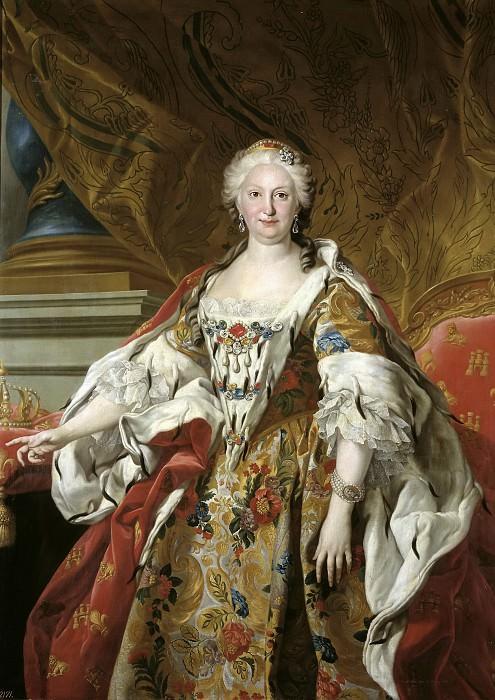 Loo, Louis Michel van -- Isabel Farnesio, reina de España. Part 5 Prado Museum