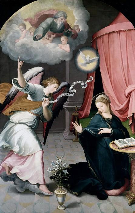 Correa de Vivar, Juan -- La Anunciación. Part 5 Prado Museum