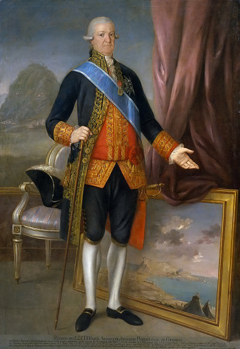 Esteve y Marqués, Agustín -- Martín Antonio Álvarez de Sotomayor y Soto-Flores, conde de Colomera. Part 5 Prado Museum