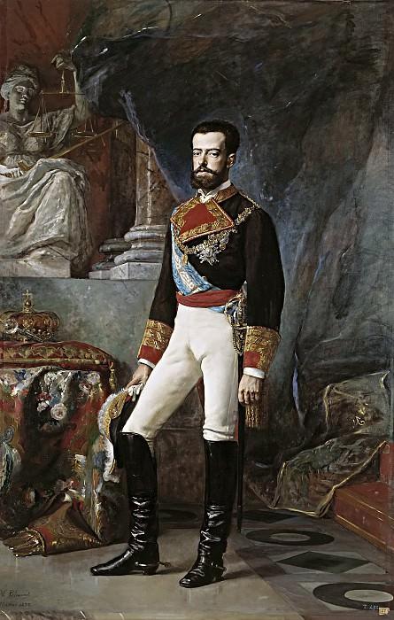 Palmaroli y González, Vicente -- Amadeo I, rey de España. Part 5 Prado Museum