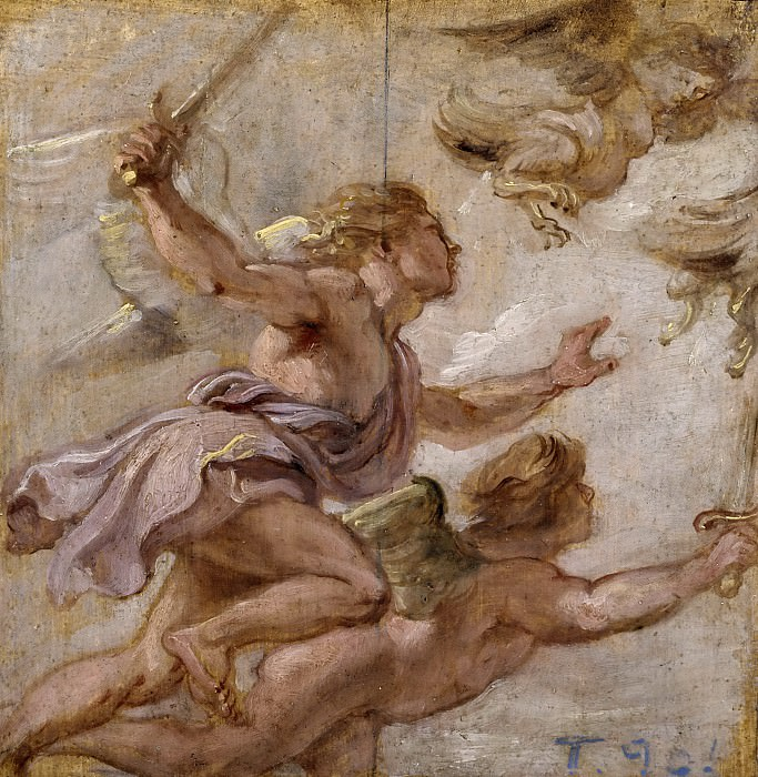 Рубенс, Питер Пауль -- Погоня за Гарпиями. часть 5 Музей Прадо