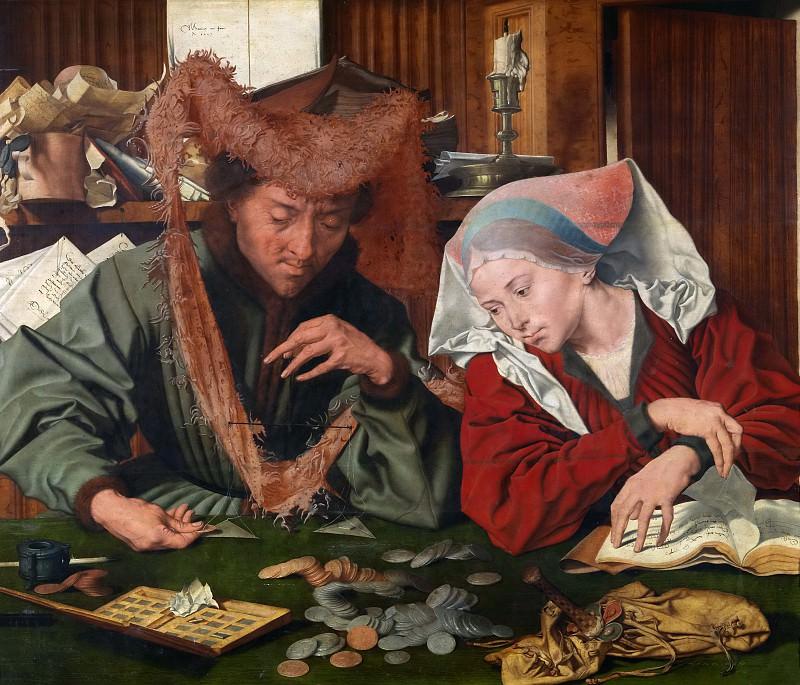 Marinus -- El cambista y su mujer. Part 5 Prado Museum