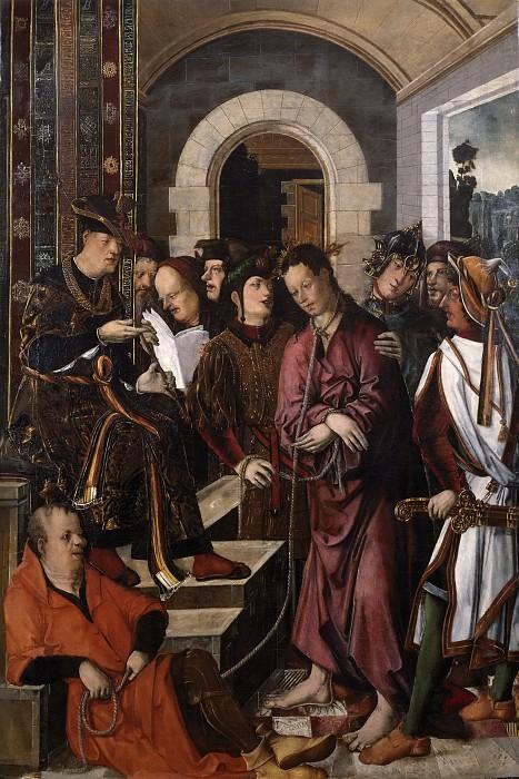 Франсиско и Родриго де Осона -- Христос перед Пилатом. часть 5 Музей Прадо
