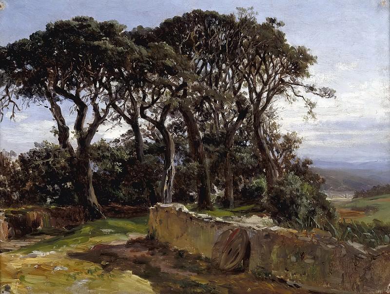 Haes, Carlos de -- Pinares (San Vicente de la Barquera). Part 5 Prado Museum