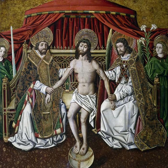 Хименес, Мигель -- Святая Троица. часть 5 Музей Прадо
