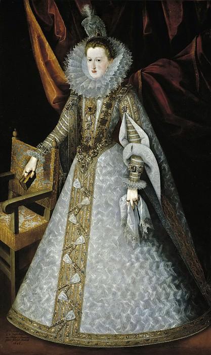 Pantoja de la Cruz, Juan -- Margarita de Austria-Estiria, reina de España. Part 5 Prado Museum