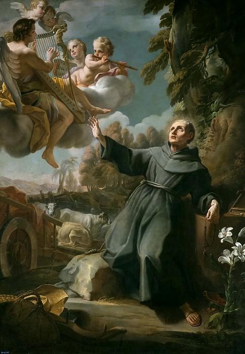 Maella, Mariano Salvador -- Visión de San Sebastián de Aparicio. Part 5 Prado Museum