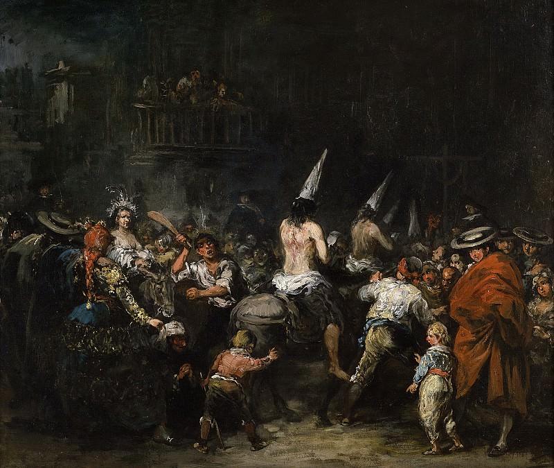 Lucas Velázquez, Eugenio -- Condenados por la Inquisición. Part 5 Prado Museum
