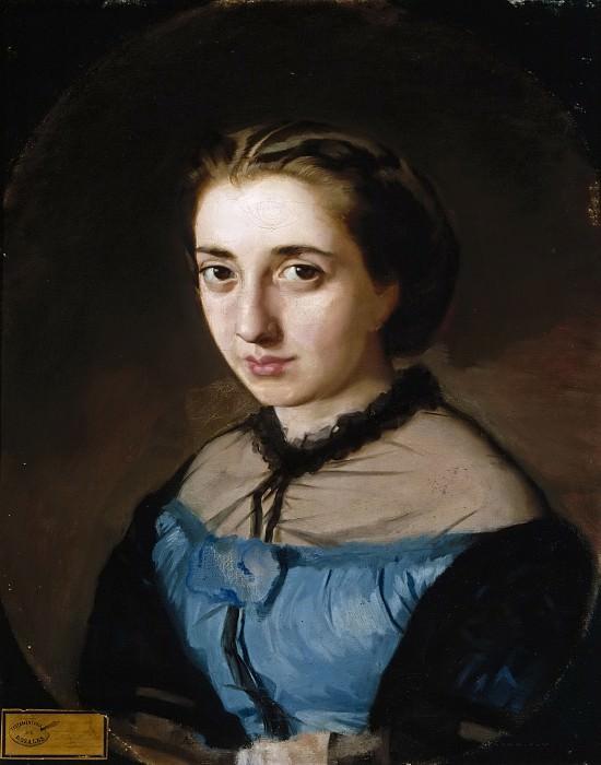 Rosales Gallinas, Eduardo -- Maximina Martínez de la Pedrosa, esposa del artista. Part 5 Prado Museum
