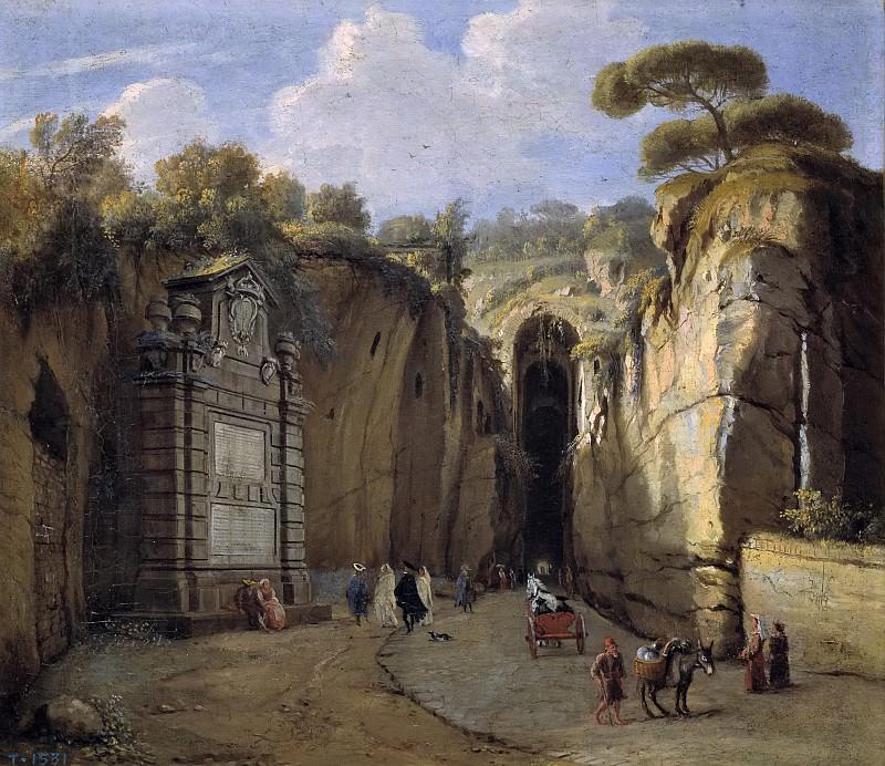 Vanvitelli, Gaspare -- La Gruta de Posillipo (Nápoles). Part 5 Prado Museum