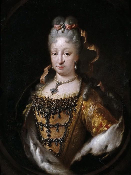 Meléndez, Miguel Jacinto -- Isabel de Farnesio, reina de España. Part 5 Prado Museum