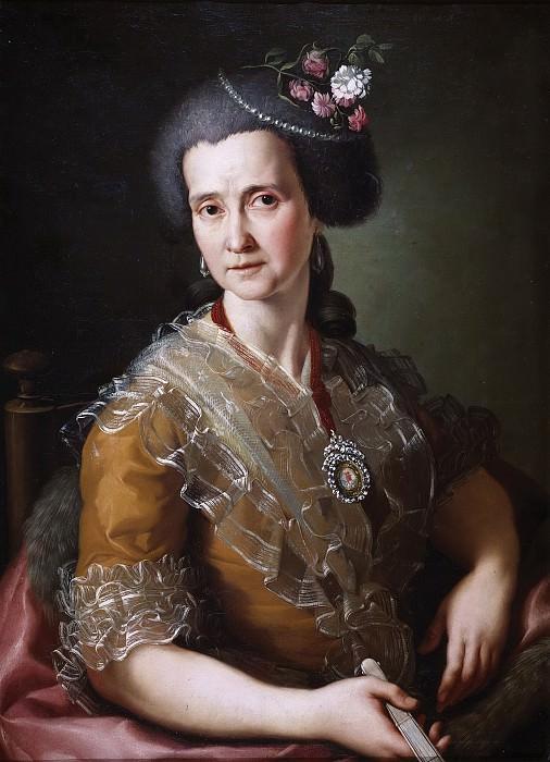 González Velázquez, Antonio -- Manuela Tolosa y Aviñón. Part 5 Prado Museum