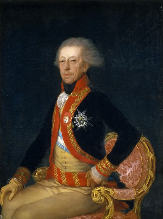 Goya y Lucientes, Francisco de -- El general Antonio Ricardos. Part 5 Prado Museum