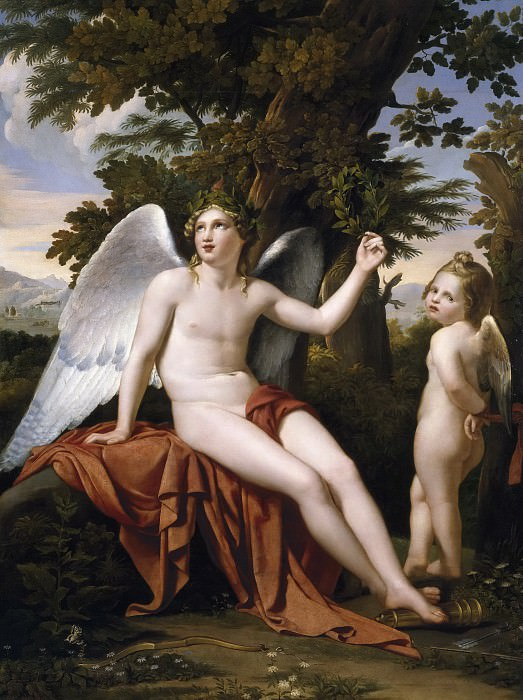 Madrazo y Agudo, José de -- El Amor divino y el Amor profano. Part 5 Prado Museum
