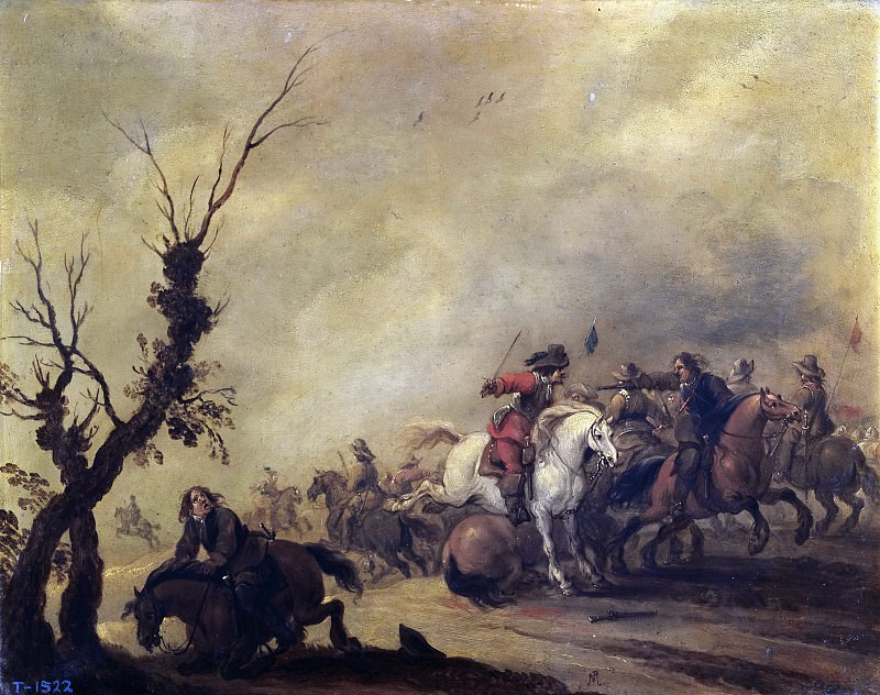 Меленер, Питер -- Битва кавалерий. часть 5 Музей Прадо