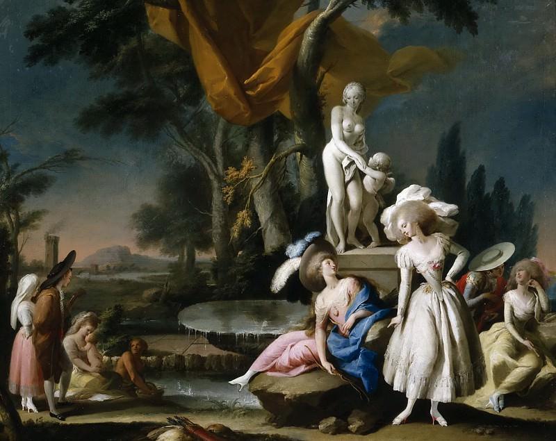 Camarón Bonanat, José -- Parejas en un parque. Part 5 Prado Museum