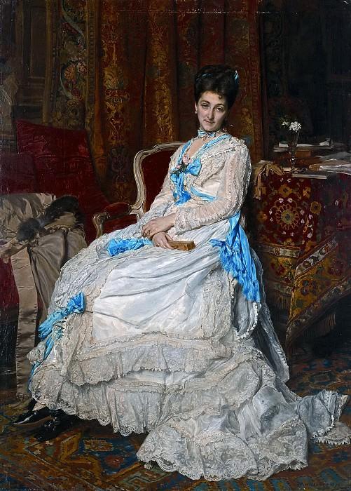 Meissonier, Jean Louis Ernest -- Josefa Manzanedo e Intentas de Mitjans, II marquesa de Manzanedo. Part 5 Prado Museum