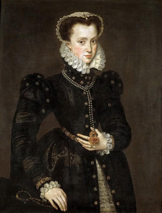 Мор ван Дасхорст, Антонис -- Портрет знатной дамы. часть 5 Музей Прадо
