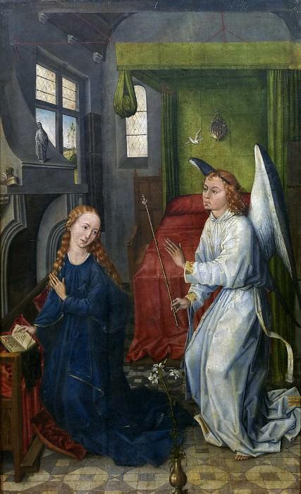 Maestro de Sopetrán -- La Anunciación. Part 5 Prado Museum
