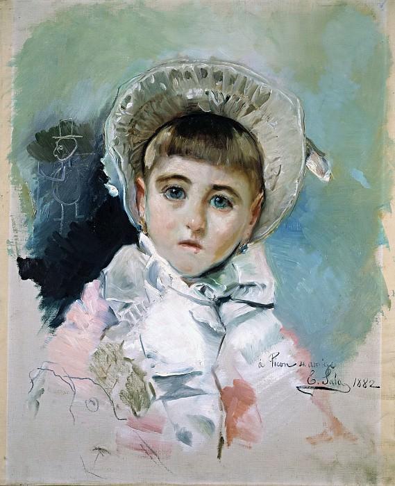 Sala y Francés, Emilio -- María Picón y Pardiñas, con capota blanca. Part 5 Prado Museum