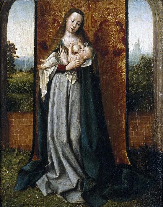 Provost, Jan -- La Virgen con el Niño. Part 5 Prado Museum