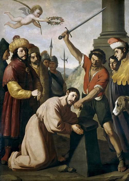 Zurbarán, Francisco de -- Martirio de Santiago. Part 5 Prado Museum