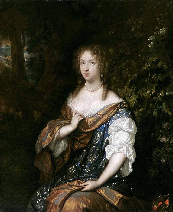 Netscher, Caspar -- Alida de Lange, esposa de Johan Rammelman. Part 5 Prado Museum