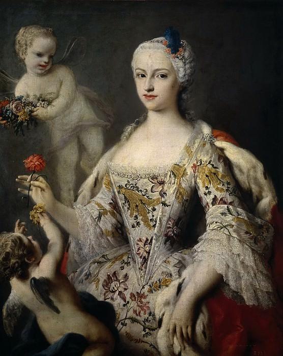 Amigoni, Jacopo -- María Antonia Fernanda de Borbón y Farnesio, infanta de España. Part 5 Prado Museum