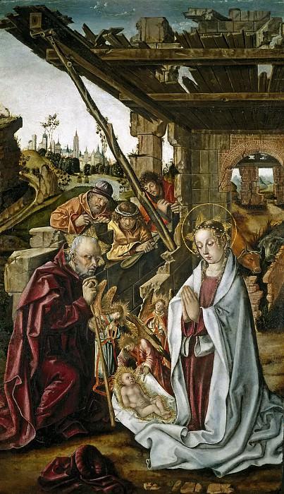 Osona, Francisco de; Osona, Rodrigo de -- La Natividad. Part 5 Prado Museum
