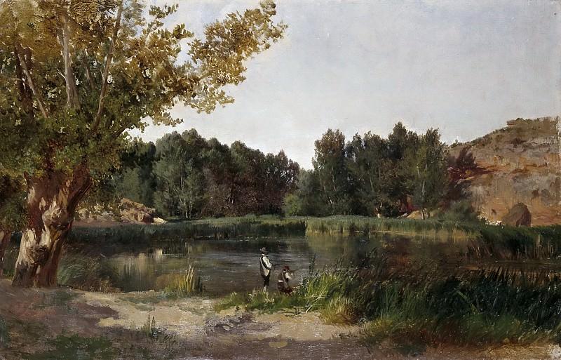 Хаэс, Карлос де -- Озеро. часть 5 Музей Прадо