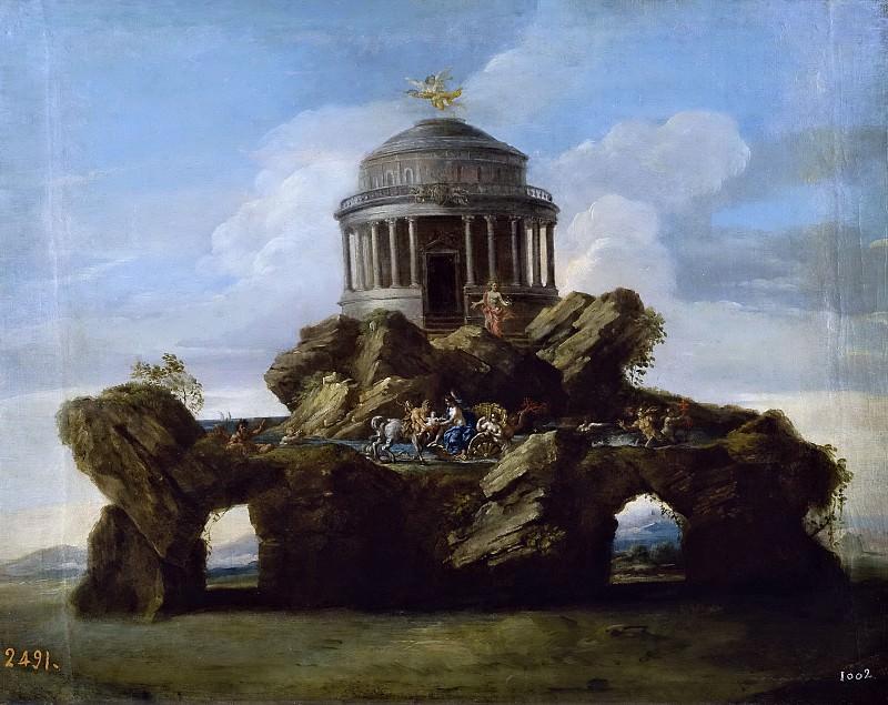 Conca, Sebastiano -- La educación de Aquiles. Part 5 Prado Museum