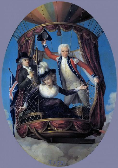 Rigaud, John-Francis -- Los tres viajeros aéreos favoritos. Part 5 Prado Museum