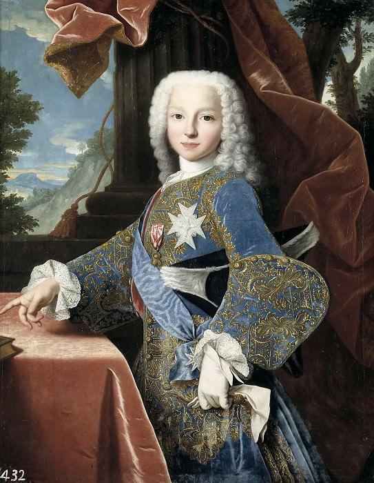 Ranc, Jean -- Felipe de Borbón y Farnesio, futuro duque de Parma. Part 5 Prado Museum