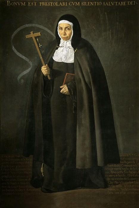 La venerable madre Jerónima de la Fuente. Diego Rodriguez De Silva y Velazquez