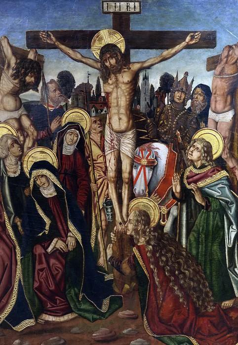 Bernat, Martín -- La Crucifixión. Part 5 Prado Museum