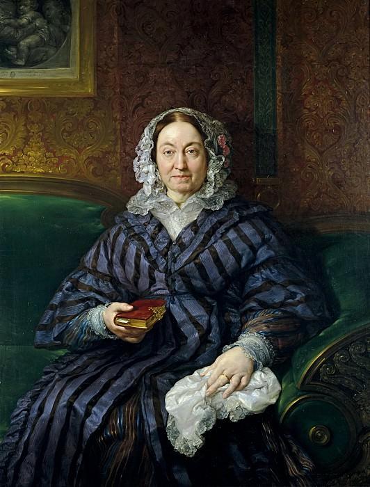 López Portaña, Vicente -- María Francisca de la Gándara y Cardona, condesa viuda de Calderón. Part 5 Prado Museum