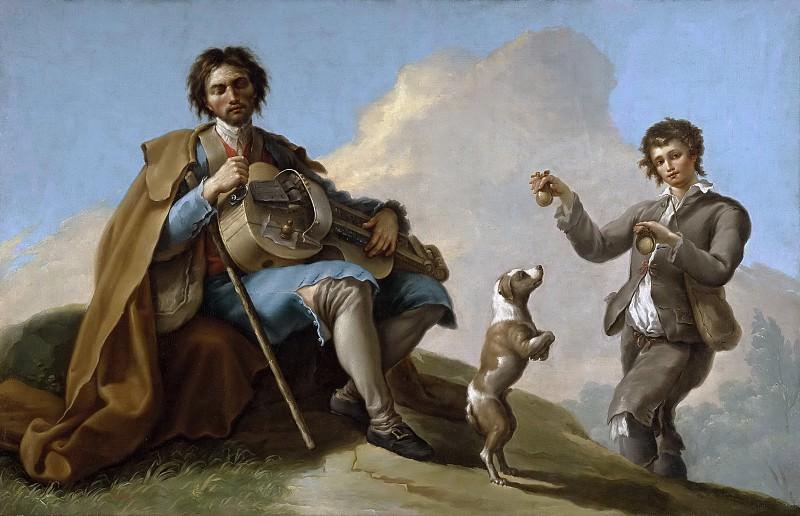 Bayeu y Subías, Ramón -- El ciego músico. Part 5 Prado Museum