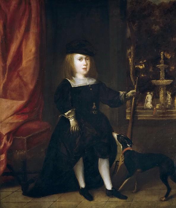 Аноним -- Карл II в детстве. часть 5 Музей Прадо