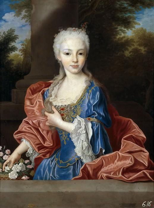 Ranc, Jean -- María Ana Victoria de Borbón. Part 5 Prado Museum