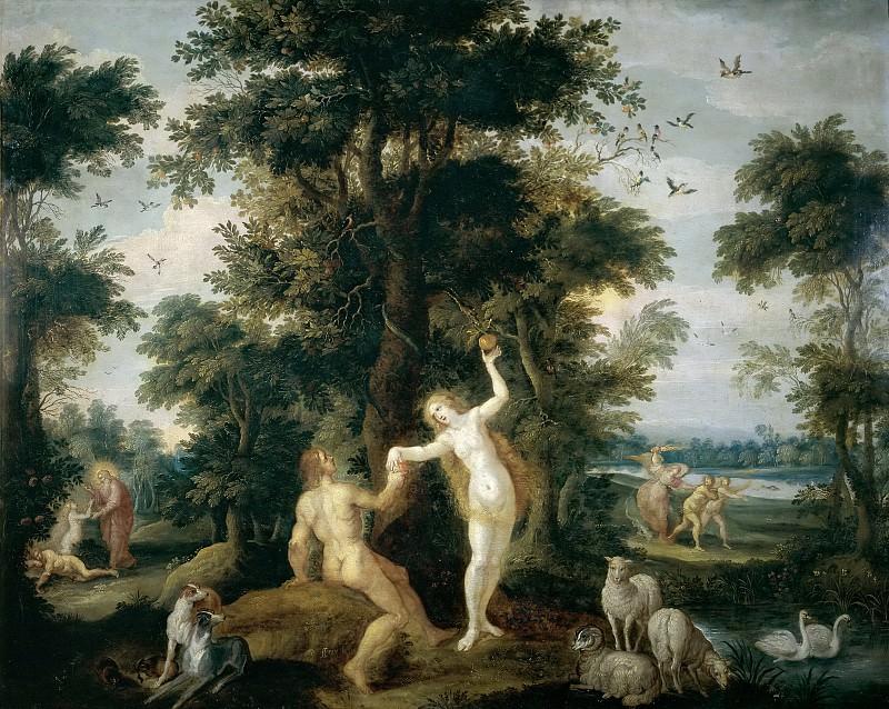 Francken, Frans II -- El Pecado Original. Part 5 Prado Museum