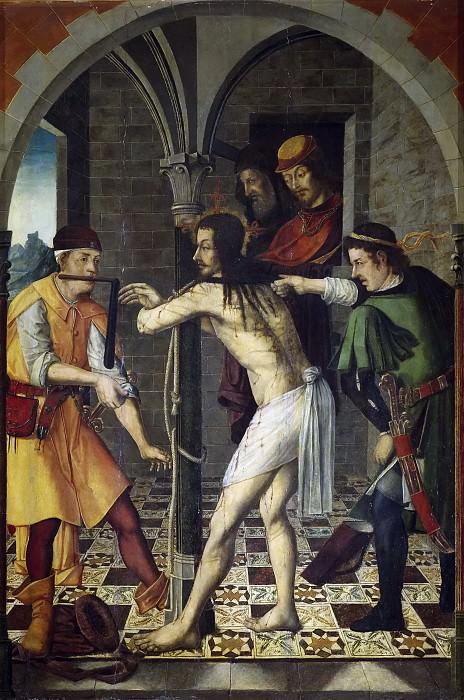 Osona, Francisco de; Osona, Rodrigo de -- La Flagelación. Part 5 Prado Museum