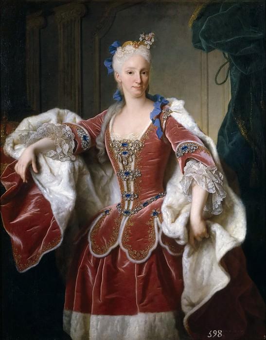 Ranc, Jean -- Isabel Farnesio, reina de España. Part 5 Prado Museum