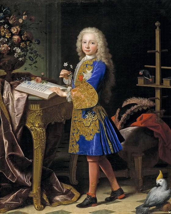 Ranc, Jean -- Carlos de Borbón y Farnesio, niño (futuro Carlos III de España). Part 5 Prado Museum