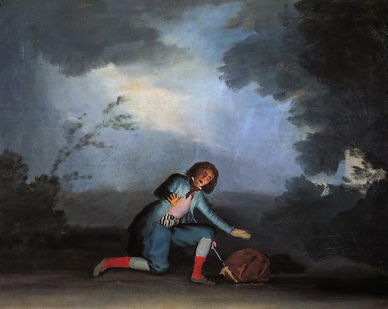 Хулия, Асенсио -- Сцена из комедии. часть 5 Музей Прадо
