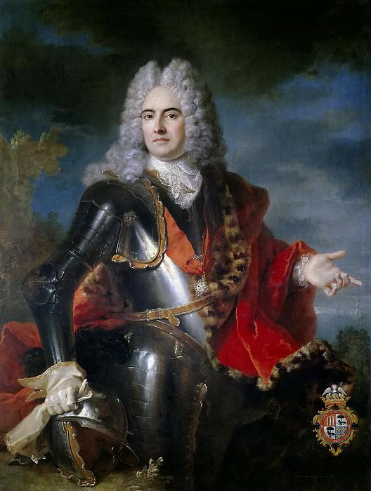 Oudry, Jean Baptiste -- Don José de Rozas y Meléndez de la Cueva, I conde de Castelblanco. Part 5 Prado Museum