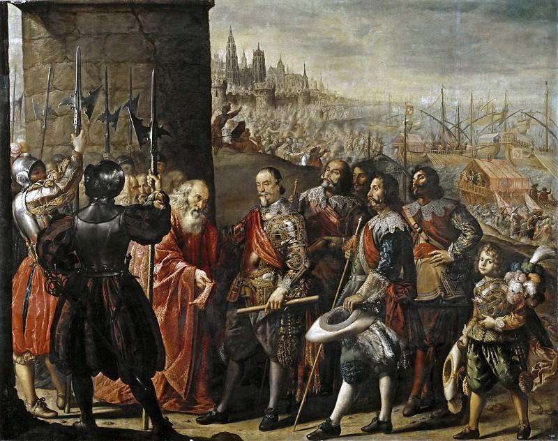 Pereda y Salgado, Antonio de -- El socorro de Génova por el II marqués de Santa Cruz. Part 5 Prado Museum